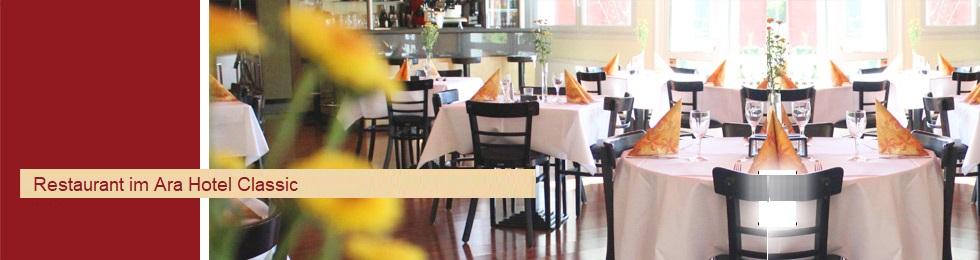 klar in Sicht Großhandelsverkauf Großhändler ARA-Hotel . ClassicRestaurant . Ingolstadt . Schollstraße 10a
